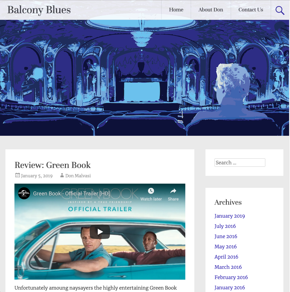 Balcony Blues Site